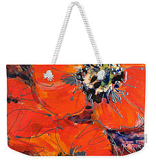 Magic Poppy Weekender Tote Bag