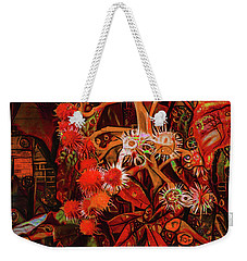 Weekender Tote Bag featuring the digital art No One Would Have Believed by Steve Taylor