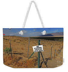 No Parking Anytime Weekender Tote Bag