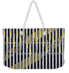 Weekender Tote Bag featuring the photograph No Parking Number 1 by Carol Leigh