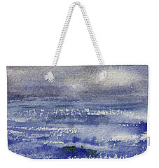 Weekender Tote Bag featuring the painting No Promises by Kris Parins