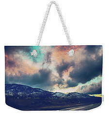 Weekender Tote Bag featuring the photograph No Stopping Us Now by Laurie Search
