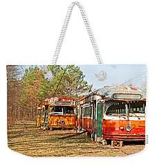 No Stops Weekender Tote Bag