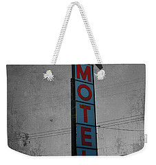 No Tell Motel Weekender Tote Bag by Jerry Cordeiro