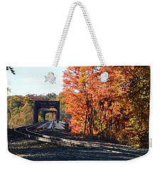 No Train Coming Weekender Tote Bag