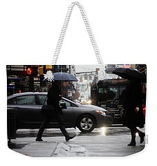 Weekender Tote Bag featuring the photograph No Trees Sneeze  by Empty Wall