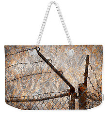 Weekender Tote Bag featuring the photograph No Way Out by Nareeta Martin