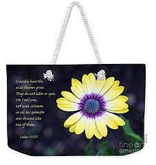 No Worries Weekender Tote Bag