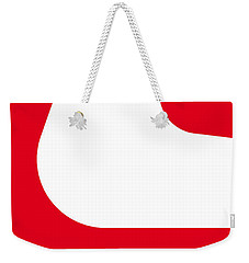 No003 My Starsky And Hutch Minimal Movie Car Poster Weekender Tote Bag by Chungkong Art