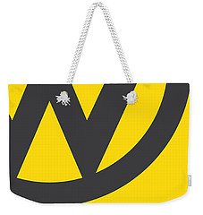 No009 My Little Miss Sunshine Minimal Movie Car Poster Weekender Tote Bag