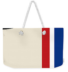 No014 My Herbie Minimal Movie Car Poster Weekender Tote Bag