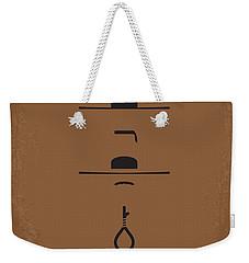 No042 My Il Buono Il Brutto Il Cattivo Minimal Movie Poster Weekender Tote Bag