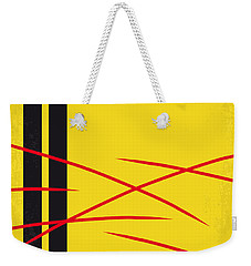 No049 My Kill Bill-part2 Minimal Movie Poster Weekender Tote Bag by Chungkong Art