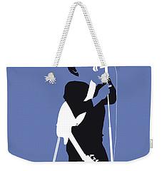 No068 My Lou Reed Minimal Music Poster Weekender Tote Bag by Chungkong Art