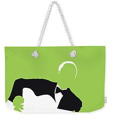 No096 My Lead Belly Minimal Music Poster Weekender Tote Bag
