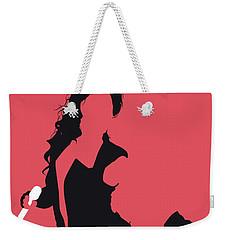 No122 My Beyonce Minimal Music Poster Weekender Tote Bag