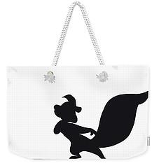 No13 My Minimal Color Code Poster Pepe Le Pew Weekender Tote Bag