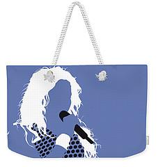 No168 My Shakira Minimal Music Poster Weekender Tote Bag