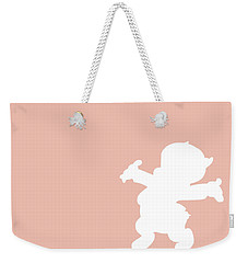 No17 My Minimal Color Code Poster Porky Pig Weekender Tote Bag