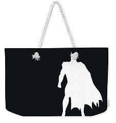 No20 My Minimal Color Code Poster Batman Weekender Tote Bag