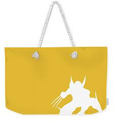 No21 My Minimal Color Code Poster Wolverine Weekender Tote Bag