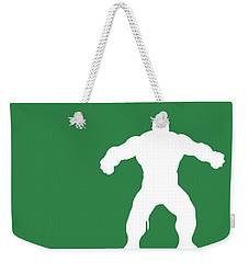 No22 My Minimal Color Code Poster Hulk Weekender Tote Bag