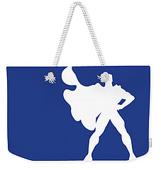 No23 My Minimal Color Code Poster Superman Weekender Tote Bag