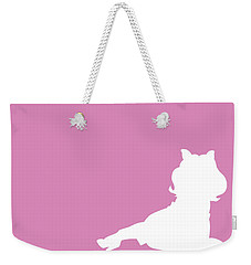 No26 My Minimal Color Code Poster Piggy  Weekender Tote Bag
