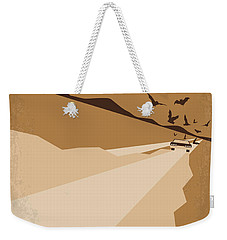 No293 My Fear And Loathing Las Vegas Minimal Movie Poster Weekender Tote Bag by Chungkong Art