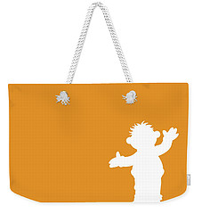 No32 My Minimal Color Code Poster Ernie Weekender Tote Bag