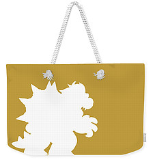 No38 My Minimal Color Code Poster Bowser Weekender Tote Bag