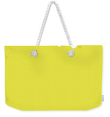 No40 My Minimal Color Code Poster Luma Weekender Tote Bag