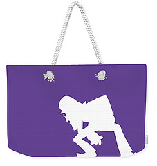 No42 My Minimal Color Code Poster Waluigi Weekender Tote Bag
