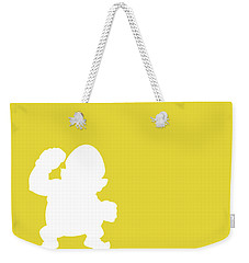 No43 My Minimal Color Code Poster Wario Weekender Tote Bag