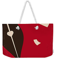No440 My The Notebook Minimal Movie Poster Weekender Tote Bag by Chungkong Art