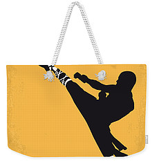 No480 My Shaolin Soccer Minimal Movie Poster Weekender Tote Bag by Chungkong Art