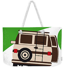 No481 My Wet Hot American Summer Minimal Movie Poster Weekender Tote Bag