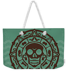No494-1 My Pirates Of The Caribbean I Minimal Movie Poster Weekender Tote Bag