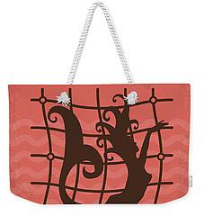 No494-4 My Pirates Of The Caribbean Iv Minimal Movie Poster Weekender Tote Bag