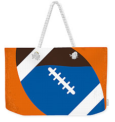 No580 My The Waterboy Minimal Movie Poster Weekender Tote Bag