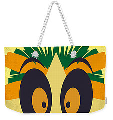 No589 My Madagascar Minimal Movie Poster Weekender Tote Bag