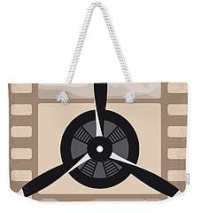 No618 My The Aviator Minimal Movie Poster Weekender Tote Bag