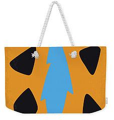 No669 My The Flintstones Minimal Movie Poster Weekender Tote Bag