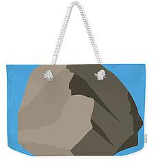 No695 My Armageddon Minimal Movie Poster Weekender Tote Bag