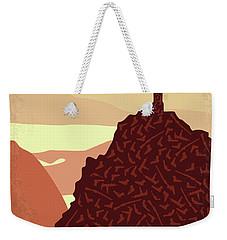 No716 My City Of God Minimal Movie Poster Weekender Tote Bag