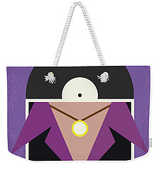 Weekender Tote Bag featuring the digital art No750 My Empire Records Minimal Movie Poster by Chungkong Art