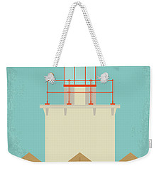 No760 My Moonrise Kingdom Minimal Movie Poster Weekender Tote Bag