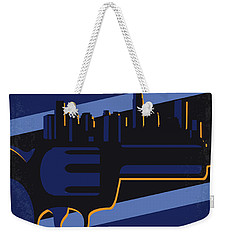 Weekender Tote Bag featuring the digital art No762 My New Jack City Minimal Movie Poster by Chungkong Art