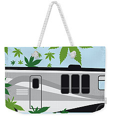 Weekender Tote Bag featuring the digital art No763 My We Are The Millers Minimal Movie Poster by Chungkong Art