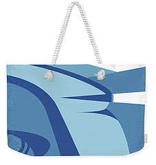 Weekender Tote Bag featuring the digital art No767 My Snowpiercer Minimal Movie Poster by Chungkong Art